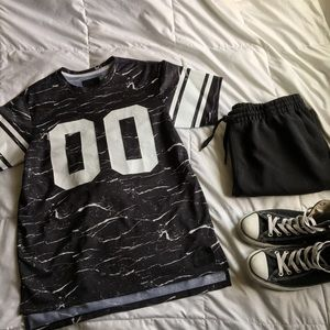 On The Byas Black Jersey Tee